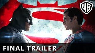 Batman v Superman: Dawn Of Justice – Final Trailer - Official Warner Bros. UK