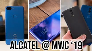 Alcatel 1s, Alcatel 3 and Alcatel 3L Hands On
