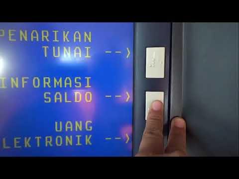 Cara Mengecek Jumlah Uang yg ada di rekening BNI lewat ATM