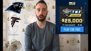 Falcons vs Panthers Prediction | $25,000 Fox Bet Super 6 | NFL Week 8 Predictions