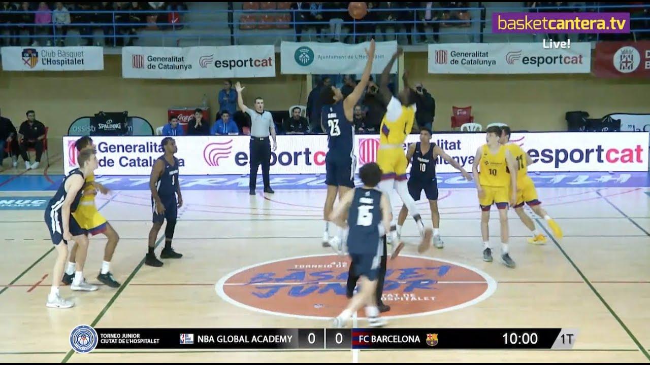 U18M - NBA GLOBAL ACADEMY vs FC BARCELONA - FINAL Torneo Junior L´Hospitalet 2020 (BasketCantera.TV)