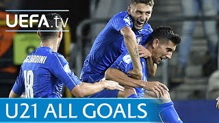2017 Under-21s - Watch every goal