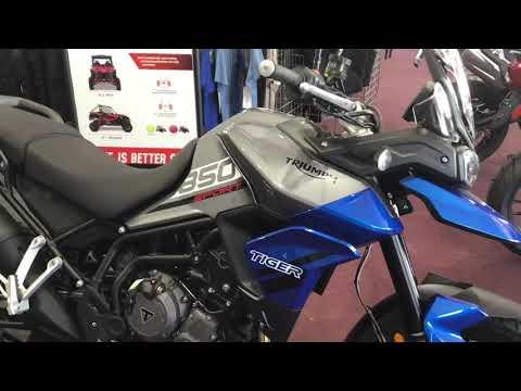 2021 Triumph Tiger 850 Sport in Belle Plaine, Minnesota - Video 1