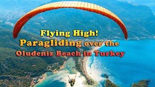 Oludeniz Paragliding Fethiye from Babadag Mountain Turkey