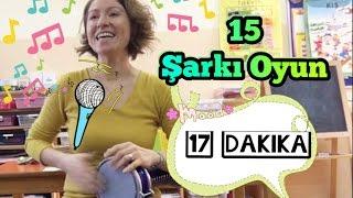 15 Şarkı Oyun -17 Dakika - Patates Adam | Ceviz Adam | Kirmizi Balik | Ellerim Tombik Tombik