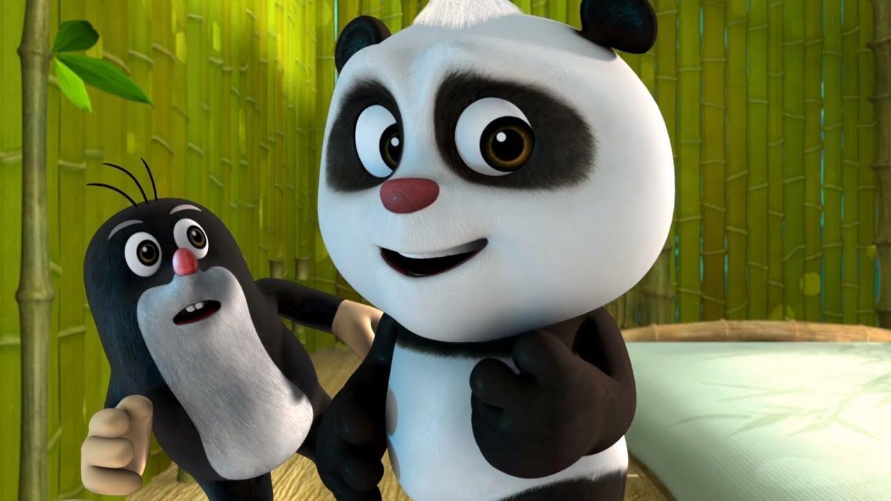 Мультики 2017! Кротик и Панда - Ночные проделки + Похититель тортов - Мультфильмы для детей