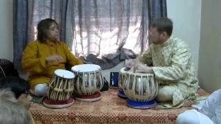 preview picture of video 'Student tabla recital - Nels Olsen - Ganda Bandhan'