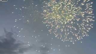 Салют в Асбесте день города 29 06 2013