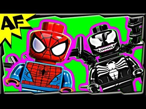Vidéo LEGO Marvel Super Heroes 76004 : Spider-Man : La poursuite en moto-araignée