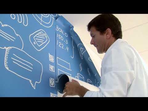 Wall-LCA Installazione base Carta da parati stampata con tecnologia HP Latex