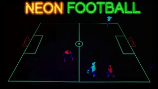 NEON FOOTBALL SKILLS BY FREESTYLERS! 🔴🔵
