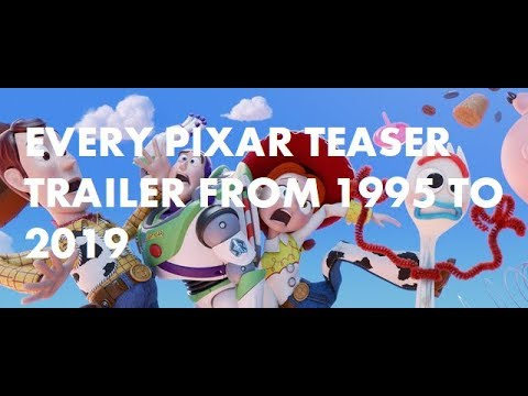 From 1995 To 2019: The History Of Pixar Teaser Trailers!