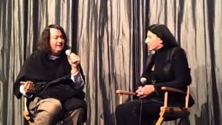 ANTONY HEGARTY & MARINA ABRAMOVIC @ IFC (11/20/2012)