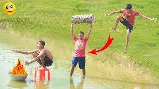 Indian New funny Video😄-😅Hindi Comedy Videos 2019-Episode-78--Indian Fun    ME Tv
