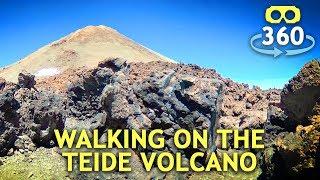 Walking on Teide volcano - Tenerife island 360º 4K #VirtualReality #360Video #VR #360