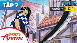 One Piece Tập 7 - Trận Quyết Đấu - Zoro Và Nghệ Sĩ Xiếc Cabaji - Hoạt Hình Tiếng Việt