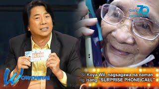 Wowowin: Kuya Wil, may handog na sorpresa para kina Cong TV at Inang!