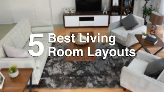 5 Best Living Room Layouts | MF Home TV
