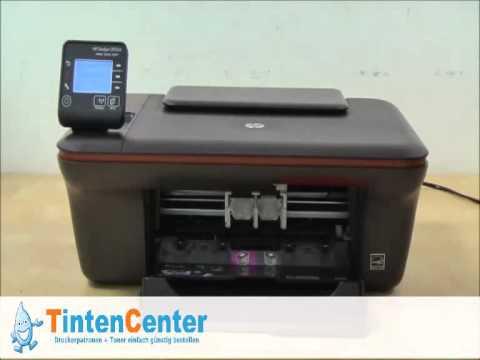 So werden die Tintenpatronen beim HP Deskjet 3055A gewechselt