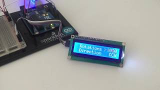 Easy Arduino Menus for Rotary Encoders arduino