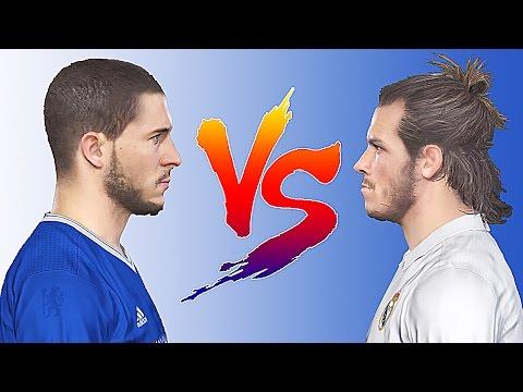 PES 2017 - Speed Battle: Eden Hazard Vs Gareth Bale