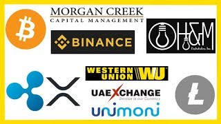 Morgan Creek Cap New Fund - H&M Distributors Crypto - Binance DEX - Ripple Western Union & More