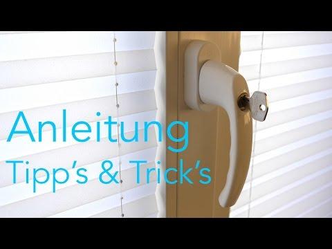 Fenstergriff wechseln Abschließbar -   Anleitung