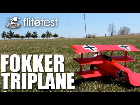 flite-test--fokker-triplane--review