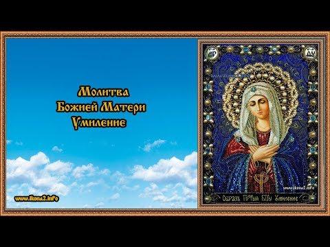 Молитва Божией Матери Умиление