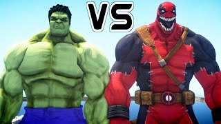 HULK VS VENOMPOOL - EPIC BATTLE