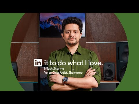 Nilesh Sharma: In it to do what I love