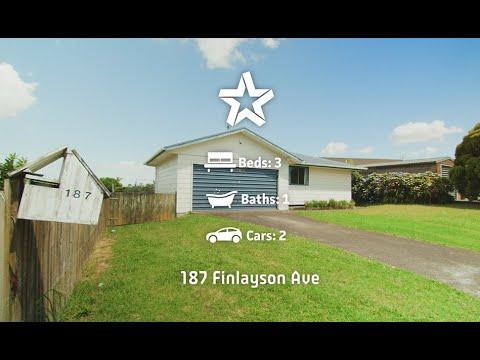 187 Finlayson Avenue, Clendon Park
