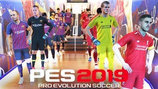 PES 2019 DEMO Gameplay - MY FIRST GAME (Barcelona & Liverpool)