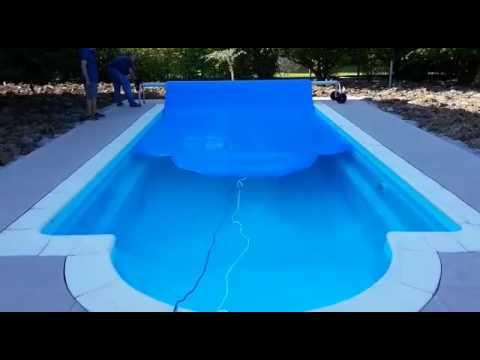 Copertura termica per piscina da esterno