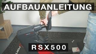 SPORTSTECH RSX500 Rudergerät - Aufbauanleitung /construction/structure/estructura/struttura