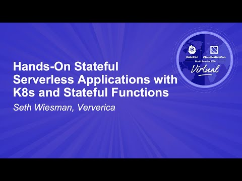 Image thumbnail for talk Hands-On Stateful Serverless Applications with K8s and Stateful Functions