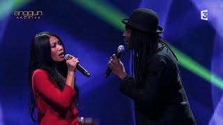 Anggun & Faada Freddy - Né Quelque Part (Live on Du côté de chez Dave / France 3) 10/1/16
