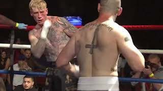 Bloodaxe Vs The Outlaw : USA Vs UK Bare Knuckle Fight !! *HIGHLIGHTS* #BKB2