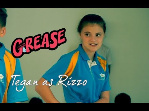 Grease Musical Interview with Tegan as Rizzo