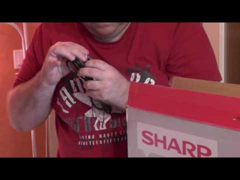 Sharp LC-32CFE6242E Rozpakowanie smart TV