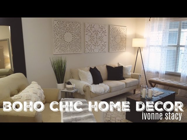 Part 2: Decorating + Revealing A Neutral Boho-Chic Apartment