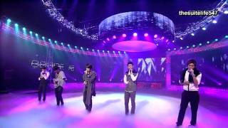 DBSK - Love in the Ice [Inkigayo] (08.09.28) {Hangul, Romanization, Eng Sub}