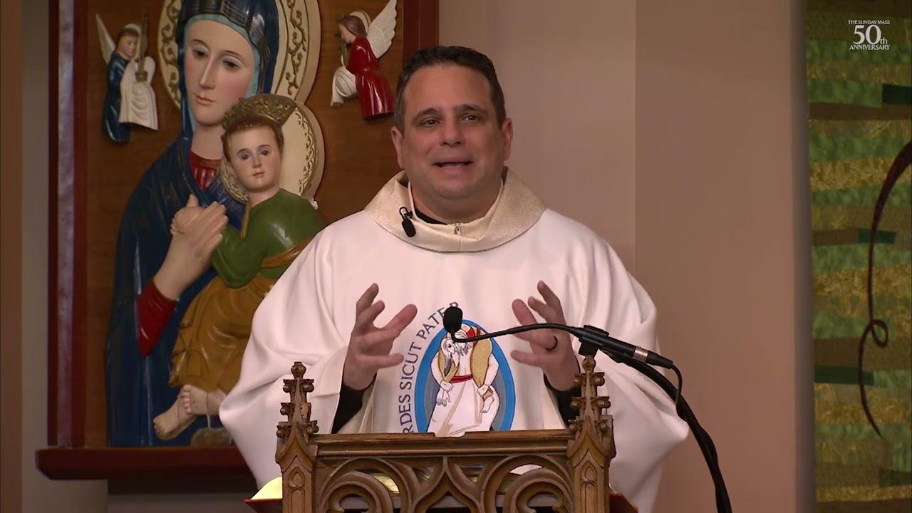 The Sunday Mass Homily 11 April 2021 Divine Mercy Sunday