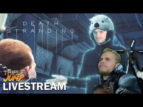 Death Stranding - HIDEOUS KOJIMUMS | TripleJump Live!