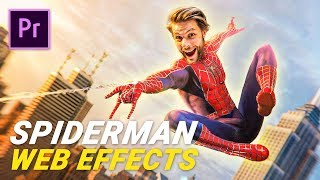 Shooting WEB effect from SPIDERMAN (Premiere Pro)