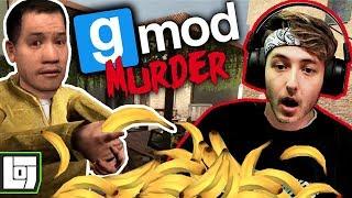 BANANEN VOOR ANDERHALVE CENT! | GMOD: Murder #1 | LOG