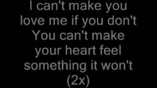 Jon Young - Can't Make You Love Me Lyrics