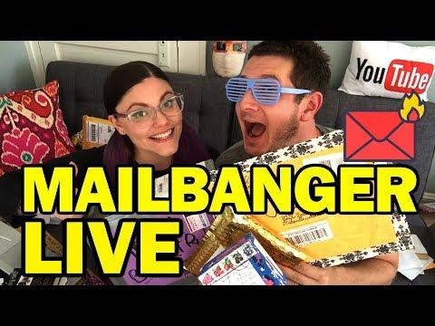 MailBanger LIVE!!! - Man Vs Corinne Vs Mail