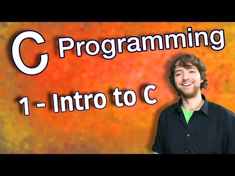 C Programming Tutorial 1 – Intro to C
