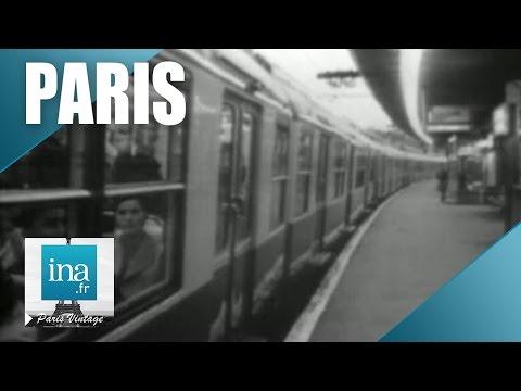 Les transports publics à Paris en 1971   Archive INA